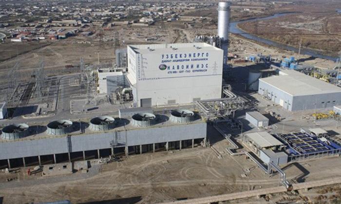 Строительство второй ПГУ на Навоийской ТЭС